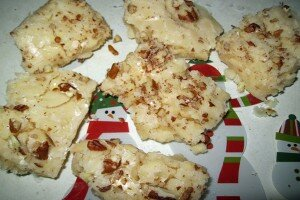 Holiday Eggnog Fudge