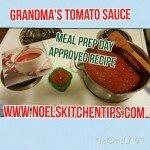 Grandma's Tomato Sauce